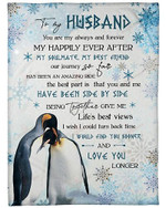 To My Husband You Are Me My Always And Forever YC0309475CL Fleece Blanket