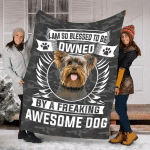 Yorkshire Terrier Awesome Dog YC0209320CL Fleece Blanket