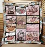 Sloth Is My Spirit Animal YP2708056CL Quilt Blanket
