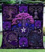 Tree Of Life Cross Stitch YP2708061CL Quilt Blanket