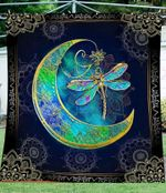 Dragonfly Moon YP2708037CL Quilt Blanket