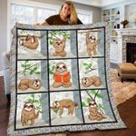 Sloth Read YP2708057CL Quilt Blanket