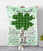 To My Daughter To You My Baby Girl YC1009193CL Fleece Blanket