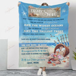 To My Son The Widest Oceans YC1009327CL Fleece Blanket