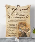 Lion To My Husband Find You And Choose You YC1009082CL Fleece Blanket