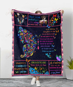 Butterfly Our Son Picked You To My Daughter In Law YC1009011CL Fleece Blanket