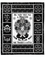 My Mother Trained A Witch YC1009094CL Fleece Blanket
