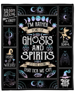 Im Rather Fond Of Ghosts And Spirits YC1009069CL Fleece Blanket