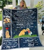 Dogs And Puppies Dont Call Me Dog My Mom Calls Me Baby YC1009033CL Fleece Blanket