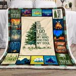 Camping Into The Forest YC1309290CL Fleece Blanket