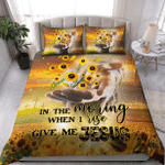 In The Morning When I Rise Give Me God XP1109035CL Bedding Set