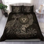 Vikings Valknut With Helm Of Awe And Horn Triskelion XP1109070CL Bedding Set