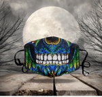 [LIMITED EDITION] HALLOWEEN SKULL FABRIC FACE COVER HW00123L