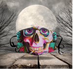 [LIMITED EDITION] HALLOWEEN SKULL FABRIC FACE COVER HW00116L