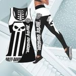 [Limited Edition] HD 3D ALL OVER PRINTED COMBO TANK TOP & LEGGINGS OUTFIT FOR WOMEN - HD379