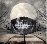 [LIMITED EDITION] HALLOWEEN SKULL FABRIC FACE COVER HW00133L