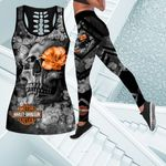 [Limited Edition] HD 3D ALL OVER PRINTED COMBO TANK TOP & LEGGINGS OUTFIT FOR WOMEN - HD381