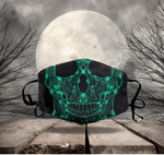 [LIMITED EDITION] HALLOWEEN SKULL FABRIC FACE COVER HW00104L