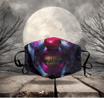 [LIMITED EDITION] HALLOWEEN SKULL FABRIC FACE COVER HW00141L