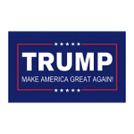 Trump Flags - TRUMP FLAG PRESIDENT MAKE AMERICA GREAT AGAIN 3X5 FEET TF013L