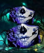 [LIMITED EDITION] HALLOWEEN SKULL FABRIC FACE COVER SK0017L