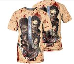 Leatherface Made in Texas T-shirt Horror Movie 2020 HALLOWEEN - HW0384C