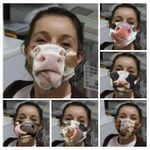 [Limited Edition] Cow Funny Face Mask C016 Custom Design 2020