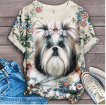 [LIMITED EDITION] CUSTOM DESIGN 2020 ANIMAL DOG TOP FASHION TSHIRT DG0012L