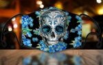 [LIMITED EDITION] HALLOWEEN SKULL FABRIC FACE COVER SK0028L