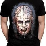 Pinhead Hellraiser 3D Graphic T-Shirt, Horror Movie 2020 Custom Design - HW0341C