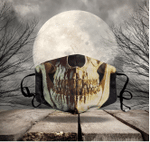 [LIMITED EDITION] HALLOWEEN SKULL FABRIC FACE COVER HW00147L