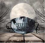 [LIMITED EDITION] HALLOWEEN SKULL FABRIC FACE COVER HW00129L