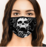 [LIMITED EDITION] HALLOWEEN SKULL FABRIC FACE COVER HW00149L