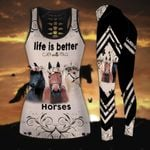 Life is Better with Horse Hoodie and Legging Set