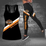 [Limited Edition] HD 3D ALL OVER PRINTED COMBO TANK TOP & LEGGINGS OUTFIT FOR WOMEN - HD382 2
