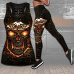 HD 3D ALL OVER PRINTED COMBO TANK TOP & LEGGINGS OUTFIT FOR WOMEN - HD389