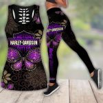 HD 3D ALL OVER PRINTED COMBO TANK TOP & LEGGINGS OUTFIT FOR WOMEN - HD401
