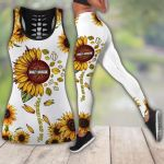 HD 3D ALL OVER PRINTED COMBO TANK TOP & LEGGINGS OUTFIT FOR WOMEN - HD402