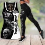 HD 3D ALL OVER PRINTED COMBO TANK TOP & LEGGINGS OUTFIT FOR WOMEN - HD403