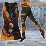HD 3D ALL OVER PRINTED COMBO TANK TOP & LEGGINGS OUTFIT FOR WOMEN - HD405