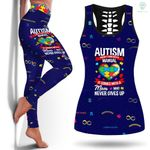 Autism Mom Never Give Up ATL002L
