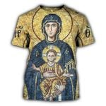 RL-G010H- Mary And Jesus 3D Shirt