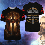 RL-G005H Jesus The Way The Truth The Life 3D Shirt