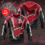 Alabama Crimson Tide football Custom Name Hoodies - v5
