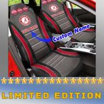 Alabama Crimson Tide Football Custom Car Seat Covers (SET OF 2) -All Ver