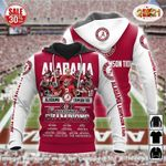 Alabama Crimson Tide football Champions Hoodies - v4