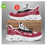 Alabama Crimson Tide football Custom Name OW Shoes - v4