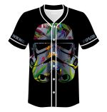 Star Trooper 420 Baseball Jersey Shirt WDL017L
