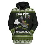 Gearhuman 3D Mando and Baby Star War Ugly Sweater Custom Hoodie Apparel