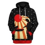Gearhuman 3D Star Wars The Mandalorian Christmas Custom Tshirt Hoodie Apparel